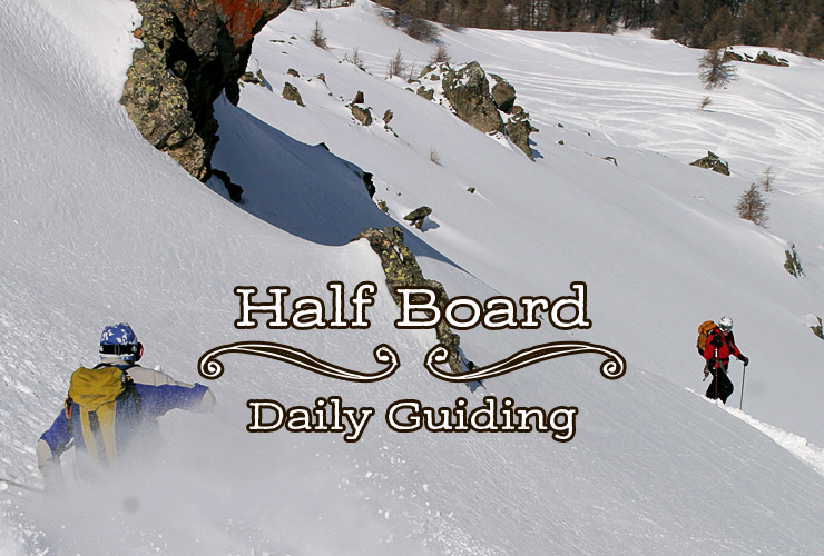Half Board at Skiers Lodge