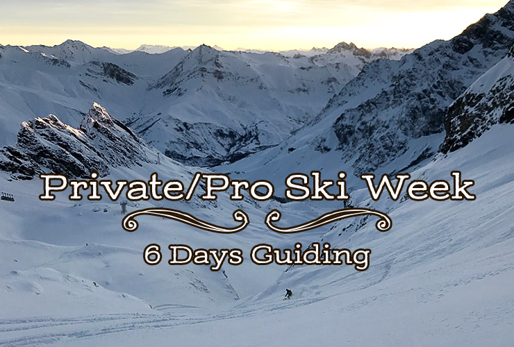 Private/pro Ski Week's At Skiers Lodge