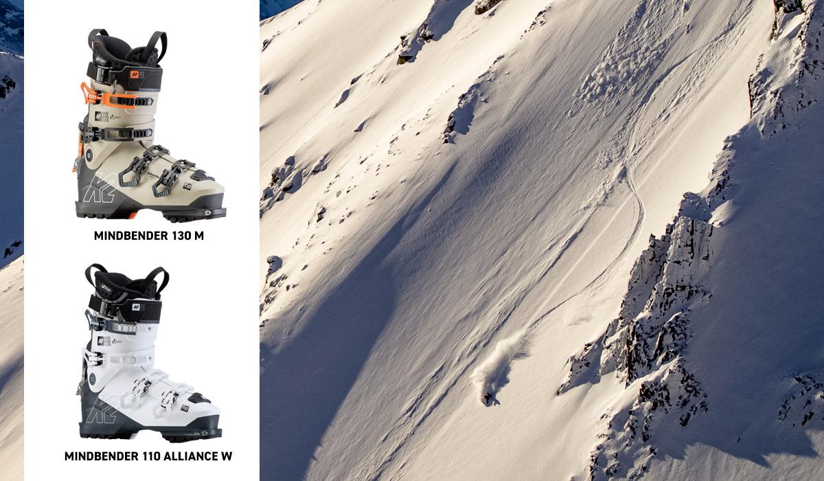 Mindbender 130 Boots and Mindbender 110 Alliance Boots