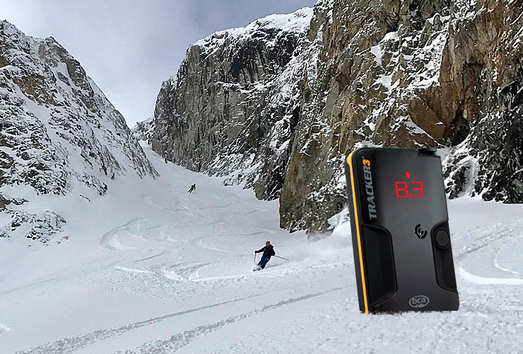 TRACKER 3 AVALANCHE TRANSCEIVER